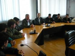 Συνάντηση μαθητών 2ου ΕΠΑΛ Ν. Ιωνίας με αντιπεριφερειάρχη Γ. Καλτσογιάννη