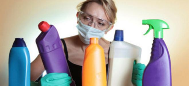 Αποτέλεσμα εικόνας για τοξικά χημικά στο σπίτι
