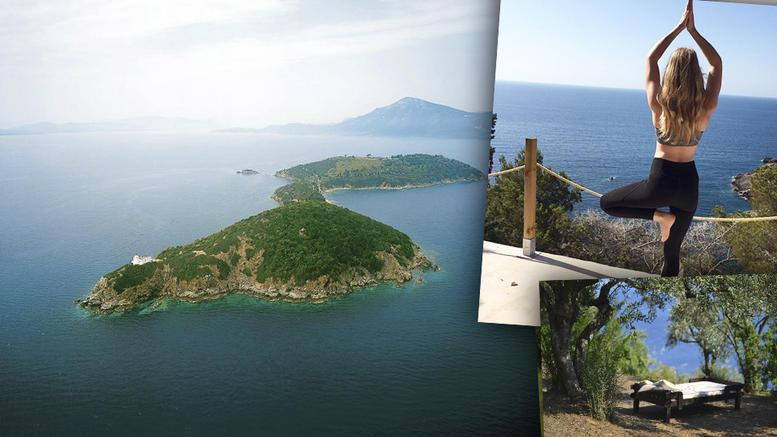 Το ιδιωτικό νησί λίγο έξω από τον Παγασητικό που ελκύει λάτρεις της ... 1639d2e00e7